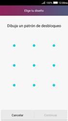 Desbloqueo del equipo por medio del patrón - Huawei Y3 II - Passo 6