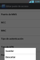 Configura el Internet - LG L4 II - Passo 17