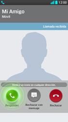Contesta, rechaza o silencia una llamada - LG G2 - Passo 4