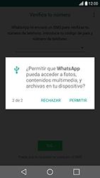 Configuración de Whatsapp - LG X Cam - Passo 7