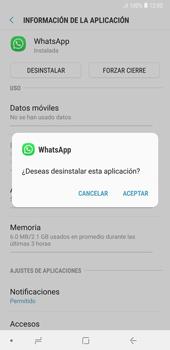Desinstalar aplicaciones - Samsung A7 2018 - Passo 6