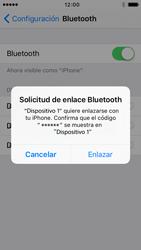 Conecta con otro dispositivo Bluetooth - Apple iPhone 5 - Passo 6