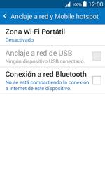 Configura el hotspot móvil - Samsung Galaxy Core Prime - G360 - Passo 5
