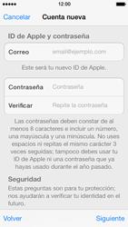Crea una cuenta - Apple iPhone 5s - Passo 11