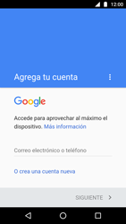 Crea una cuenta - Motorola Moto G5 - Passo 3