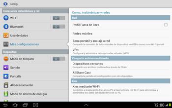 Comparte la conexión de datos con una PC - Samsung Galaxy Note 10-1 - N8000 - Passo 5