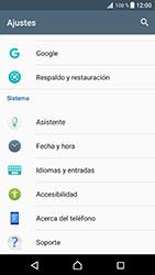 Restaura la configuración de fábrica - Sony Xperia XZ Premium - Passo 4