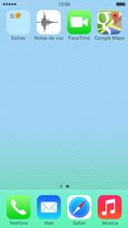 Uso de la navegación GPS - Apple iPhone 5c - Passo 10