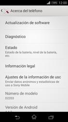 Actualiza el software del equipo - Sony Xperia E3 D2203 - Passo 6
