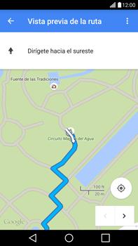 Uso de la navegación GPS - LG G4 - Passo 25