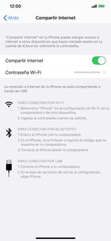 Comparte la conexión de datos con una PC - Apple iPhone 11 - Passo 8