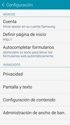 Configura el Internet - Samsung Galaxy Alpha - G850 - Passo 26