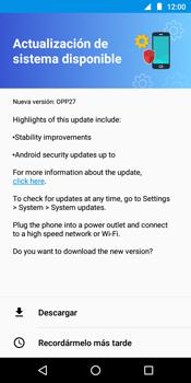 Actualiza el software del equipo - Motorola Moto G6 Play - Passo 7