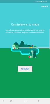 Uso de la navegación GPS - Samsung Galaxy S9 Plus - Passo 4