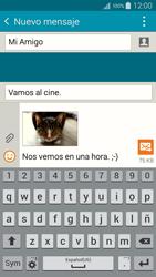 Envía fotos, videos y audio por mensaje de texto - Samsung Galaxy A5 - A500M - Passo 22