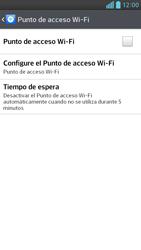 Configura el hotspot móvil - LG Optimus G Pro Lite - Passo 6