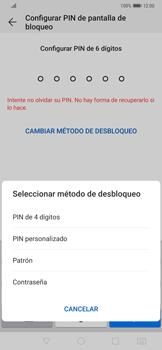 Desbloqueo del equipo por medio del patrón - Huawei Mate 20 Pro - Passo 7