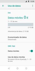 Desactiva tu conexión de datos - Motorola Moto E5 Play - Passo 5