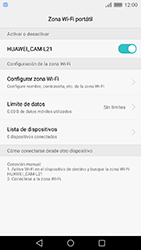 Configura el hotspot móvil - Huawei Cam Y6 II - Passo 10