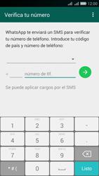 Configuración de Whatsapp - Huawei G Play Mini - Passo 4