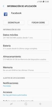 Limpieza de aplicación - Samsung Galaxy S8+ - Passo 5