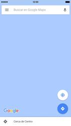 Uso de la navegación GPS - Apple iPhone 6s - Passo 8