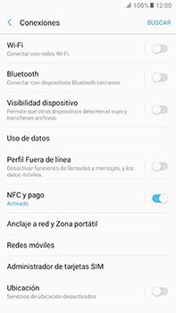 Configura el hotspot móvil - Samsung Galaxy A7 2017 - A720 - Passo 5