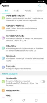 Restaura la configuración de fábrica - LG G7 ThinQ - Passo 3