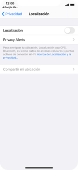 Uso de la navegación GPS - Apple iPhone XS - Passo 6