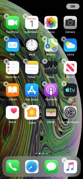 Personalizar la pantalla - Apple iPhone XS - Passo 3