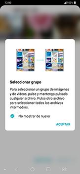 Transferir fotos vía Bluetooth - LG G7 Fit - Passo 6