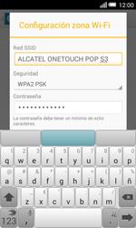 Configura el hotspot móvil - Alcatel Pop S3 - OT 5050 - Passo 8