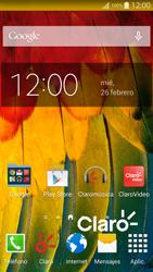 Cómo insertar la SIM card - Samsung Galaxy Alpha - G850 - Passo 1
