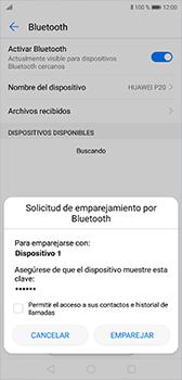 Conecta con otro dispositivo Bluetooth - Huawei P20 - Passo 7