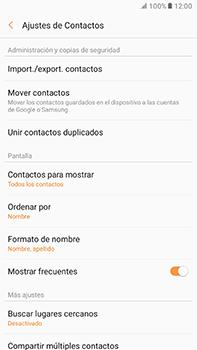 ¿Tu equipo puede copiar contactos a la SIM card? - Samsung Galaxy A7 2017 - A720 - Passo 6