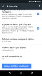 Limpieza de explorador - HTC Desire 626s - Passo 9