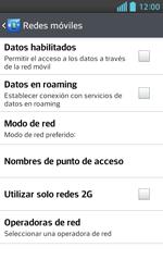 Configura el Internet - LG Optimus L5 II - Passo 6