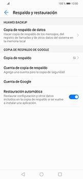 Realiza una copia de seguridad con tu cuenta - Huawei Mate 20 Lite - Passo 8