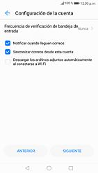 Configura tu correo electrónico - Huawei P9 Lite 2017 - Passo 9