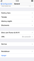 Restaura la configuración de fábrica - Apple iPhone 8 - Passo 4