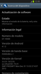 Actualiza el software del equipo - Samsung Galaxy S 3  GT - I9300 - Passo 6