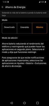 Modo de ahorro de batería - LG K40S - Passo 7