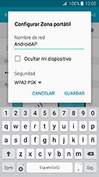Configura el hotspot móvil - Samsung Galaxy J3 - J320 - Passo 8