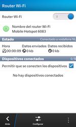 Configura el hotspot móvil - BlackBerry Z10 - Passo 13