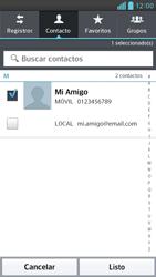 Envía fotos, videos y audio por mensaje de texto - LG Optimus G Pro Lite - Passo 6