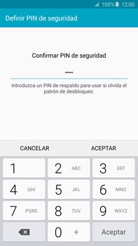 Desbloqueo del equipo por medio del patrón - Samsung Galaxy Note 5 - N920 - Passo 14