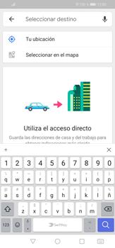 Uso de la navegación GPS - Huawei P30 Lite - Passo 12
