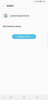 Desactivar la sincronización automática - Samsung Galaxy S9 Plus - Passo 7