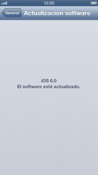 Actualiza el software del equipo - Apple iPhone 5 - Passo 6