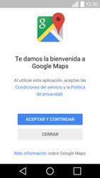 Uso de la navegación GPS - LG C50 - Passo 4
